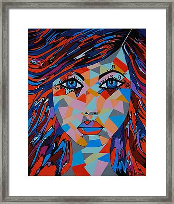 Framed Print featuring the painting Bella by Kathleen Sartoris