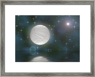 Bella Luna Framed Print by Wendy J St Christopher
