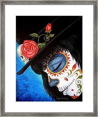 Bella Muerte Returns Framed Print
