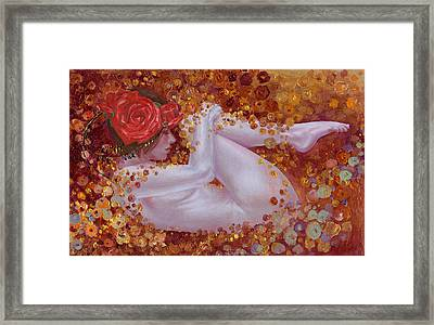 Bella Rose Framed Print by Ragen Mendenhall