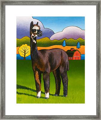 Bella Framed Print by Stacey Neumiller