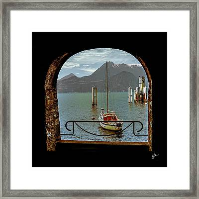 Bella Varenna - For Print Or Wrapped Canvas Framed Print