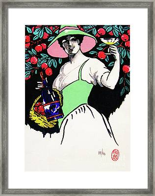 Belladonna And Apples Framed Print by Roberto Prusso