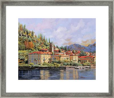 Bellagio Framed Print by Guido Borelli