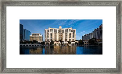 Bellagio Hotel Las Vegas Framed Print