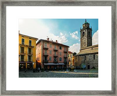 Bellagio, Lake Como, Italy. Framed Print