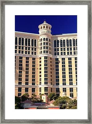 Bellagio Las Vegas Framed Print by John Rizzuto