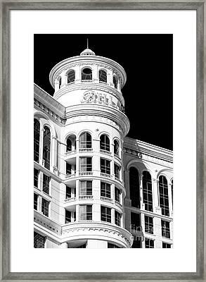 Bellagio Las Vegas Up Close Framed Print by John Rizzuto