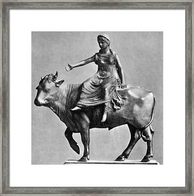 Bellano Bartolommeo Europa And The Bull Framed Print