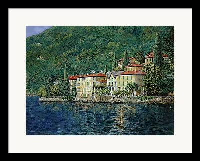 Lake Como Framed Prints