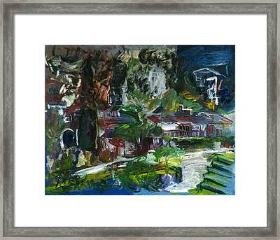 Bellapais Framed Print by Joan De Bot