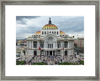 Bellas Artes Framed Print