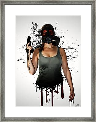 Bellatrix Framed Print by Nicklas Gustafsson