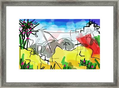 Bellavista  Framed Print by Paul Sutcliffe