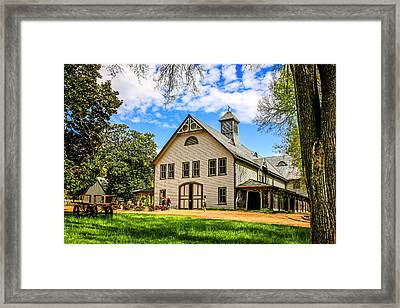Belle Meade Plantation Tennessee Framed Print by Chris Smith