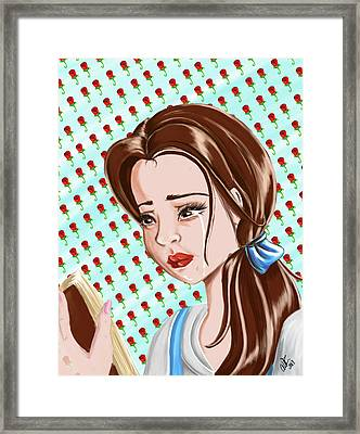 Belle Nostalgia Framed Print by Angelica Square