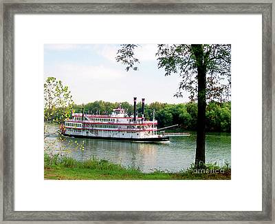 Belle Of Cincinnati  Framed Print