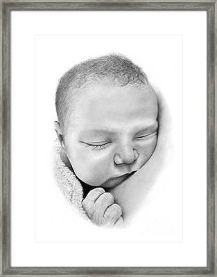 Belle Framed Print by Stuart Attwell