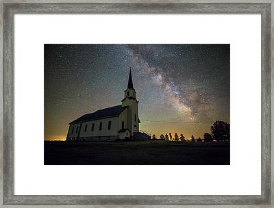 Framed Print featuring the photograph Belleview by Aaron J Groen