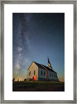 Belleview Selfie  Framed Print