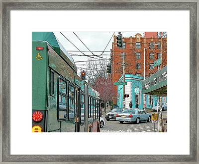 Bellevue And Olive  Framed Print by Tobeimean Peter
