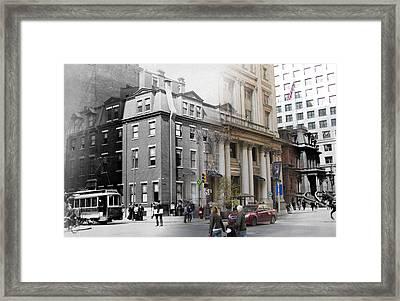 Bellevue Hotel Framed Print