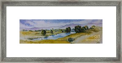 Bellinger Valley In Spring Framed Print