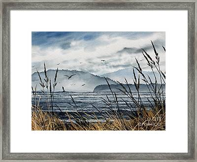Bellingham Bay Framed Print