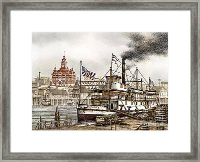 Bellingham Old Town Framed Print by James Williamson