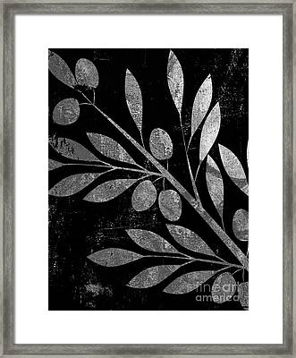 Bellisima Silver Framed Print by Mindy Sommers