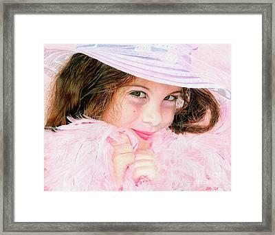 Bellla Baby Framed Print