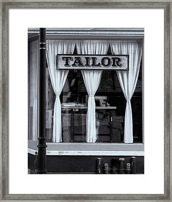 Bellows Falls Tailor Framed Print
