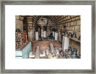 Bells And Cannons Framed Print by Adrian Evans