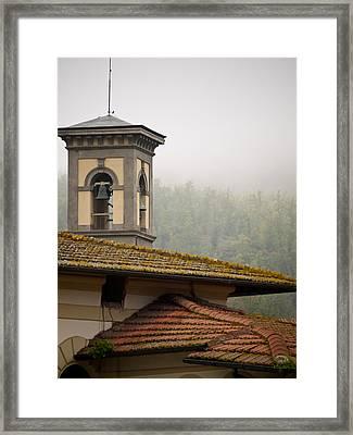 Bells Of Greve In Chianti Framed Print by Rae Tucker