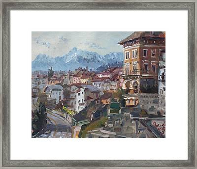 Belluno, Italy Framed Print by Ylli Haruni