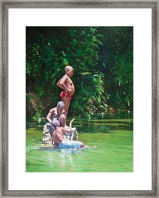 Belly Framed Print by Colin Bootman