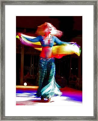 Belly Dance Framed Print