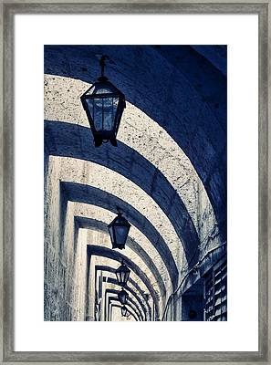 Belly Framed Print by Skip Hunt