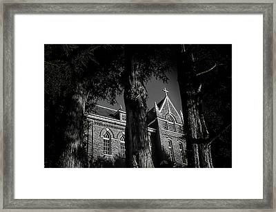 Framed Print featuring the photograph Belmont Abbey by Jessica Brawley