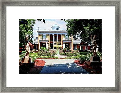 Belmont Mansion Framed Print