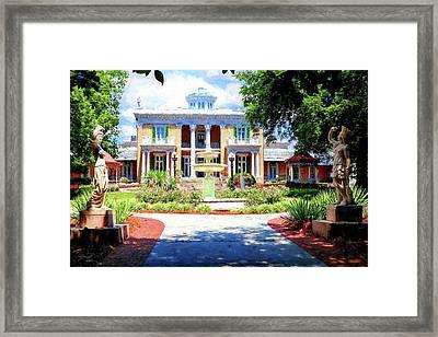 Belmont Mansion Painting Framed Print