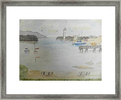 Belmore Basin In Wollongong Framed Print