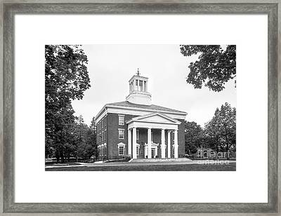 Beloit College Middle College  Framed Print
