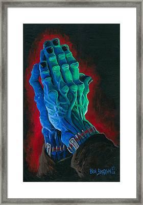 Belong Dead Framed Print by Ben Von Strawn