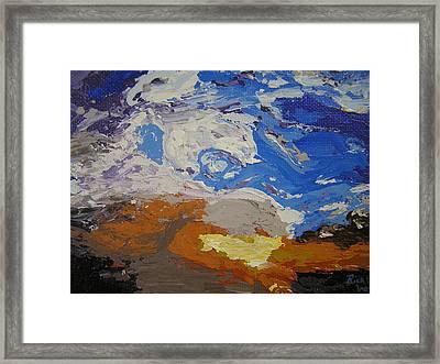Belonging Framed Print by Ricklene Wren