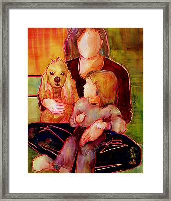 Beloved Framed Print by Blenda Studio
