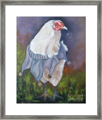 Beloved Chicken Framed Print