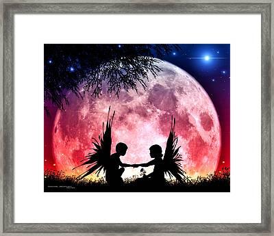 Beloved Framed Print by Dreamlight  Creations