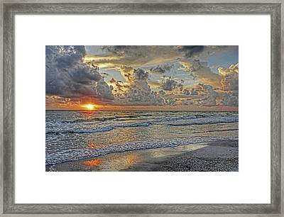 Beloved - Florida Sunset Framed Print by HH Photography of Florida