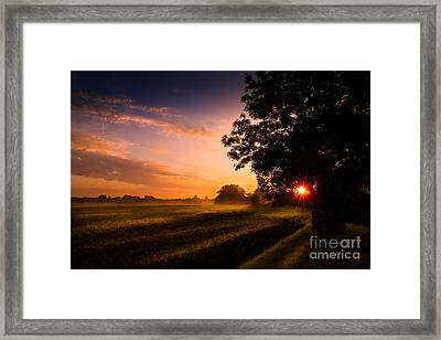 Beloved Land Framed Print by Franziskus Pfleghart